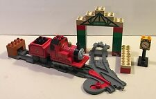 Lego Duplo 5552 James At Knapford Station 2005 Complete Thomas The Train Engine