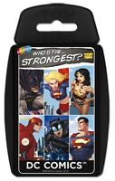 """WM - Top Trumps - DC Comics """"Who is the Strongest?"""" Card Game - Brand New"""