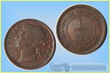Straits Settlements 1/4 Cent 1901  .....  gVF-aEF