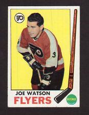 Joe Watson Philadelphia Flyers 1969-70 Topps Hockey Card #93 EX+