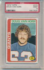 1978 Topps Football Doug Van Horn (#372) PSA9 PSA