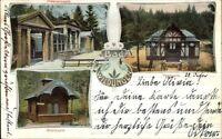Bad Wildungen Germany Multi-view c1900 Postcard