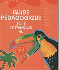 L'ILE AUX MOTS FRANCAIS CE1 CYCLE 2 GUIDE PEDAGOGIQUE + EXERCICES