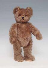 orig. SCHUCO Teddy - Yes-No Mechanik -Teddy 50er Jahre, zimtfarbener Mohair