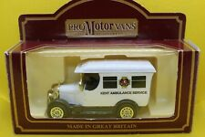 Oxford Diecast Morris Bull Nose Van in Kent Ambulance Service Livery