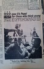 JUNE 23, 1961 NEWSPAPER PAGE #J5915- PEPSI-COLA- FOR THOSE WHO THINK YOUNG