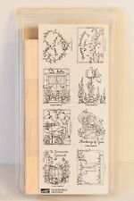 Stampin Up 1999 Feathered Friends Birds Stamp Set BRAND NEW