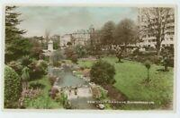 The Upper Gardens Bournemouth, Dorset Dearden & Wade 1 RP Postcard, C007