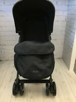 SILVER CROSS FOOTMUFF BLACK, EBONY BRAND NEW, STOCK CLEARANCE