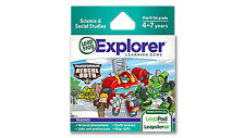 LeapFrog Learning Library Transformers Rescue Bots Science Game 39132