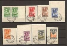 BECHUANALAND 1932 SG 99/110 USED Cat £600 .