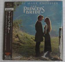 Mark Knopfler-The Princess Bride japón shm mini LP CD Obi nuevo! uicy - 94830