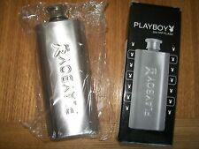 BRAND NEW 20Z STAINLESS STEEL PLAYBOY HIP FLASK