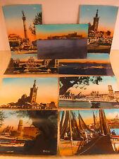 9 Vintage Postcards Old Vieux MARSEILLE France Edit. Mireille/A.Tardy/La Cigogne