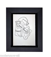 "Fernand LEGER SIGNED Ltd Ed. 130 RIVES Paper ""Magic Circles IV"" +Custom FRAMING"