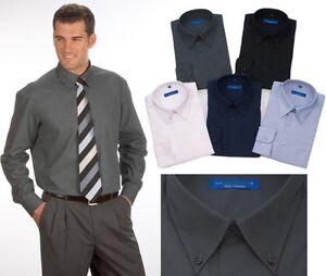 Uni Hemd Button Down Qualityshirts Gr. 39 - 54 (M-6XL)
