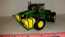1/64 ERTL custom John deere 9620r 4wd tractor w/500 gal big john tanks farm toy