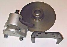 "HEAVY DUTY Go Kart Brake & 6"" Rotor Caliper Disc-Mounting Bracket-FullyAssembled"