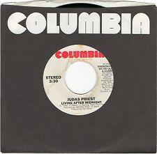 JUDAS PRIEST Living After Midnight [45 Record] Columbia 1-11308 PROMO