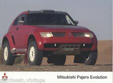 PRESS - FOTO/PHOTO/PICTURE - MITSUBISHI PAJERO EVOLUTION-A