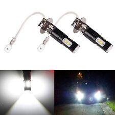 JDM ASTAR 50W H3 CREE Extreme Bright Xenon White LED DRL Driving Fog Light Bulbs