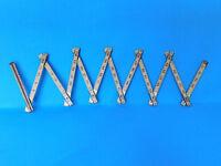 VINTAGE LUFKIN # X46  6 FT WOODEN FOLDING RULER MEASURE CARPENTER RULE TOOL