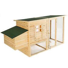 Poulailler cage à poules XXL clapier pour petits animaux rongeurs éleveur bois