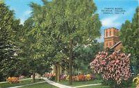 Angola Indiana~Campus Scene Tri-State College~1945 PC