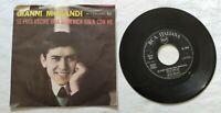 """GIANNI MORANDI 7"""" IN GINOCCHIO DA TE 45 GIRI ITALY 1964 RCA PM453263 NM/EX"""