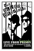 The Blues Brothers Band large signed 12x18 inch photograph poster - Top Quality