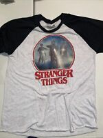 STRANGER THINGS LONG SLEEVE T- SHIRT. SIZE - L.