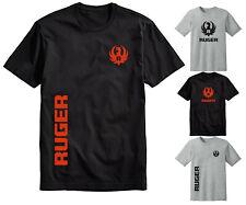 Ruger Logo T Shirt 2nd Amendment Gun Firearms Rifle Shirts