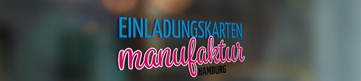 Einladungskarten Manufaktur Hamburg