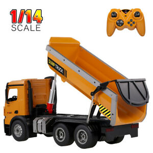Wltoys 14600 10KM/H 2.4Ghz Full Functional RC Dump Truck Toy-Remote Control Z9S2