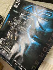 2004 Palisades Toys AVP Alien vs Predator Predator Statue Scar 35/120 IN THE BOX