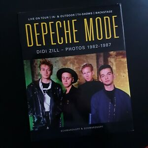 DEPECHE MODE - Photos 1982-1987 par Didi Zill