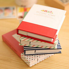 Kawaii Cute Notebook Hardcover Memo Pad Post It Notepad Sticky Notes with pen
