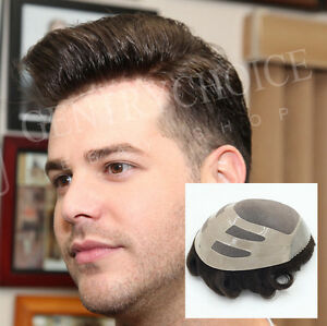 Durable Wig For Men Natural Breathable Mens Wig Human Hair For Men Noblehairplus