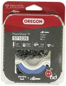 Oregon 571039 CS1500 Electric Chainsaw Sharpening Stone and Chain Replacement