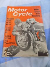 The Motor cycle/15 sept 1966/Royal Enfield 250 Fork Strip/Manx GP/Classic GP
