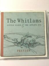 THE WHITLAMS RARE Australian PROMO ONLY Little Cloud and The Apple's Eye 4tk CD