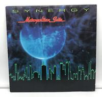 """Larry Fast / Synergy - Metropolitan Suite 1987 Audion 12"""" 33 RPM LP NM++"""
