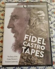 """THE FIDEL CASTRO TAPES (DVD, 2014) The Story of the Cuban Dictator!  """"NEW"""""""