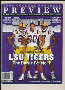 LaRon Landry LSU Tigers Autograph Sports Illustrated Magazine *1248