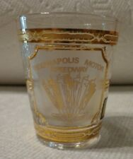 Indianapolis Motor Speedway 22k gold by Culver Souvenir Shot Glass