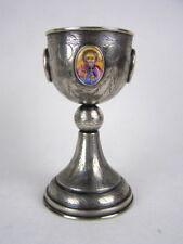 Silber Messkelch - Kelch - Porzellan - Silber 84 Russland