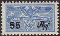 Stamp Germany Revenue WW2 3rd Reich War Era War Worker Due 055 MNH