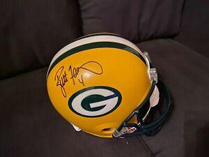 Brett Favre Autographed Full Size Helmet Favre COA