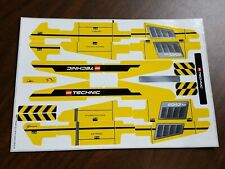 "LEGO TECHNIC 8043 EXCAVATOR ""NEW ORIGINAL STICKER SHEET ONLY"""