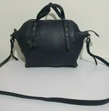Radley navy leather medium crossbody shoulder bag